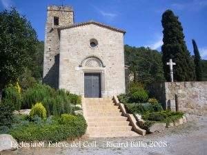 parroquia de sant esteve del coll llinars del valles