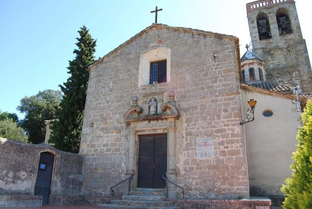 parroquia de sant esteve santuari de santa quiteria vilanova del valles