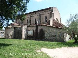 Parroquia de Sant Feliu (Domeny) (Girona)