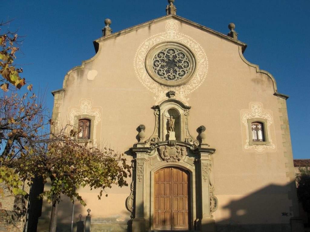 parroquia de sant genis taradell