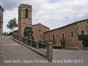 parroquia de sant iscle i santa victoria rajadell