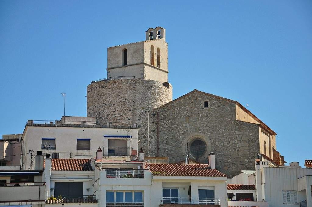 parroquia de sant jaume sant pol de mar