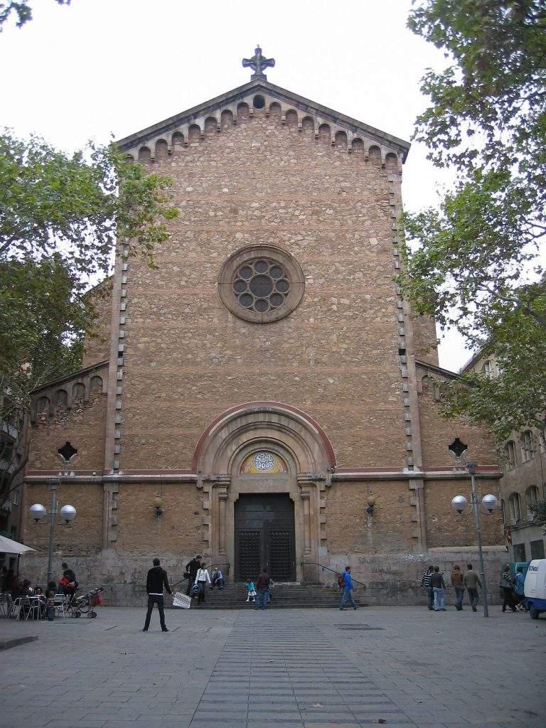 parroquia de sant joan baptista de gracia barcelona