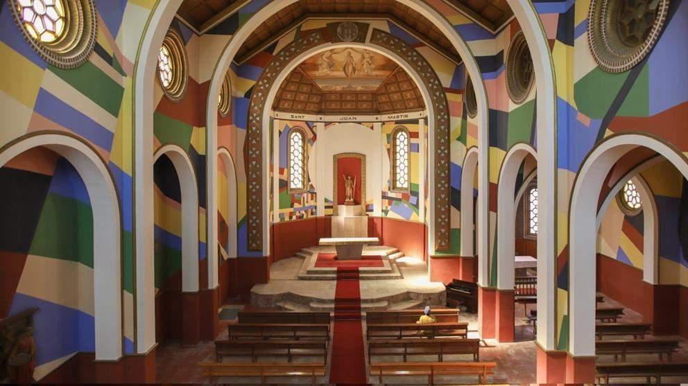 parroquia de sant joan baptista penelles