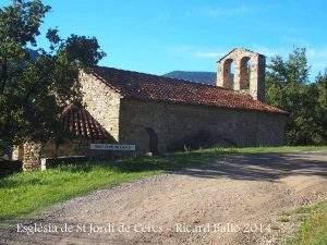 parroquia de sant jordi cercs