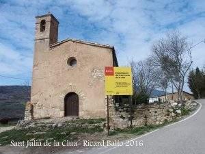 parroquia de sant julia la clua