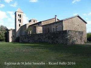 parroquia de sant julia sassorba gurb