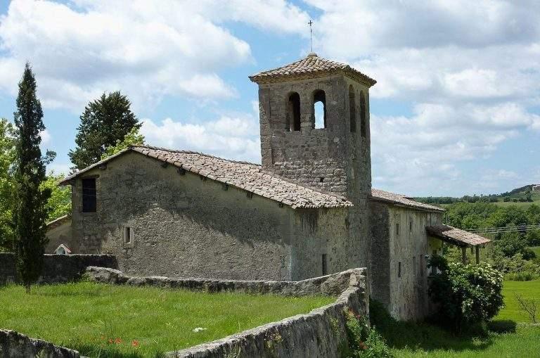 parroquia de sant marti santa maria de merles