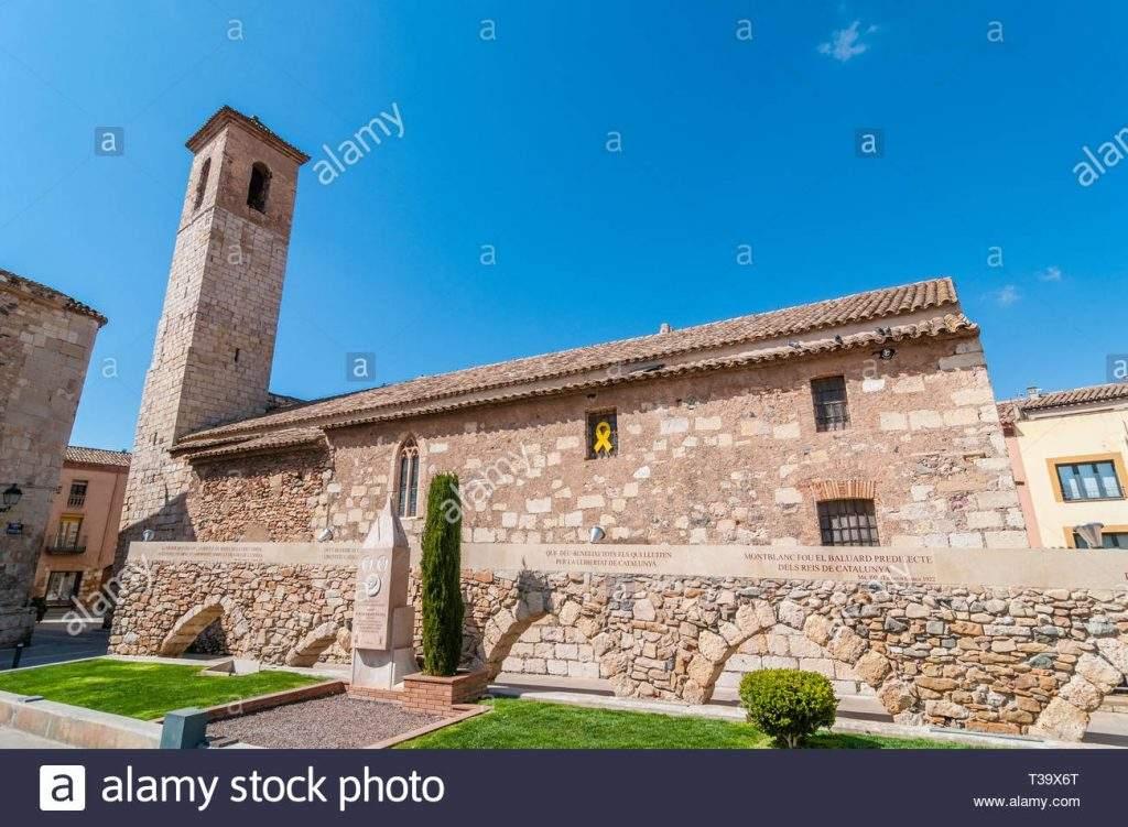 parroquia de sant miquel montblanc