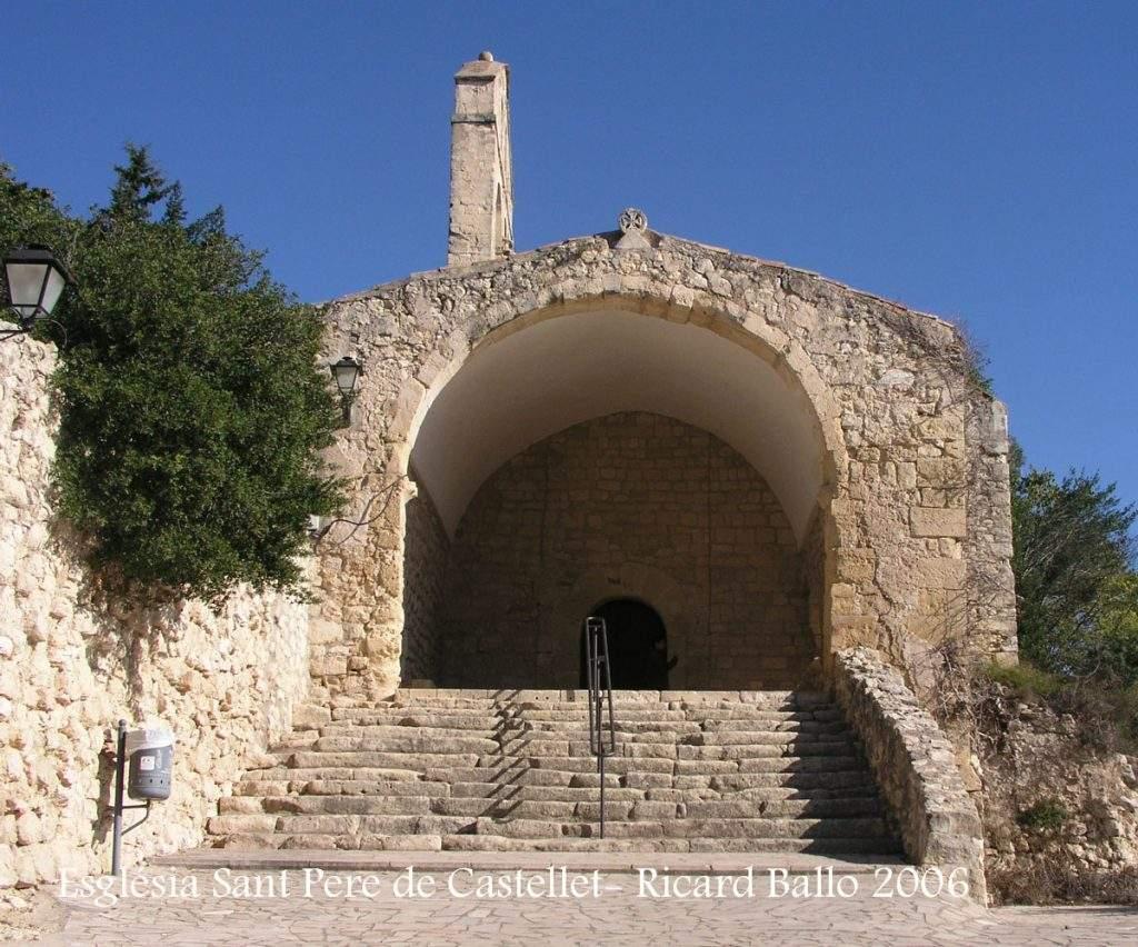 parroquia de sant pere de castellet castellet i la gornal