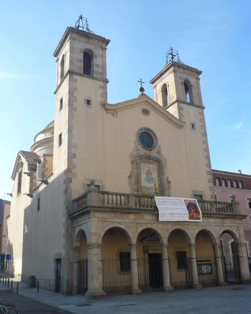 parroquia de sant pere nolasc mercedaris barcelona