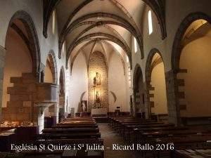 parroquia de sant quirze i santa julita arbucies