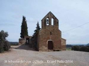 parroquia de sant sebastia el gos