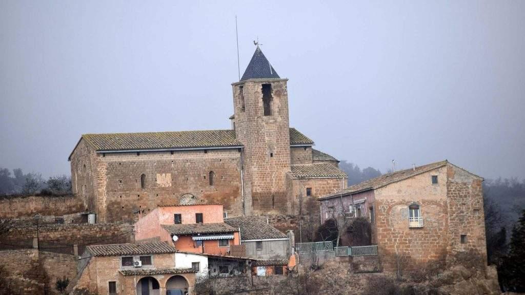 parroquia de sant tirs oliola