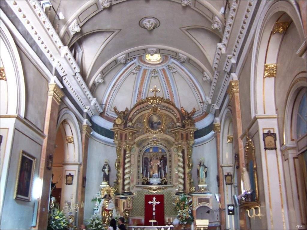 parroquia de sant vicenc sendes