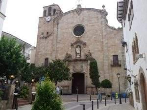 parroquia de sant vicenc tossa de mar