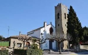 parroquia de sant vicenc vallromanes