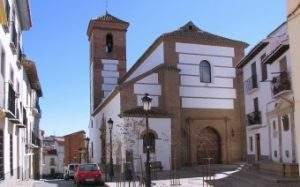 parroquia de santa ana guadix