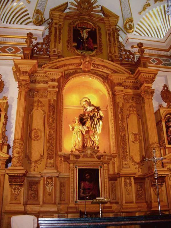 parroquia de santa ana senyera