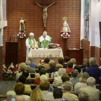 parroquia de santa barbara alto pumarin gijon