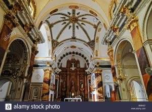 parroquia de santa barbara tarbena