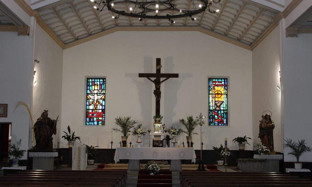 parroquia de santa barbara toledo