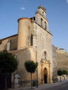 parroquia de santa cristina burgo de osma ciudad de osma