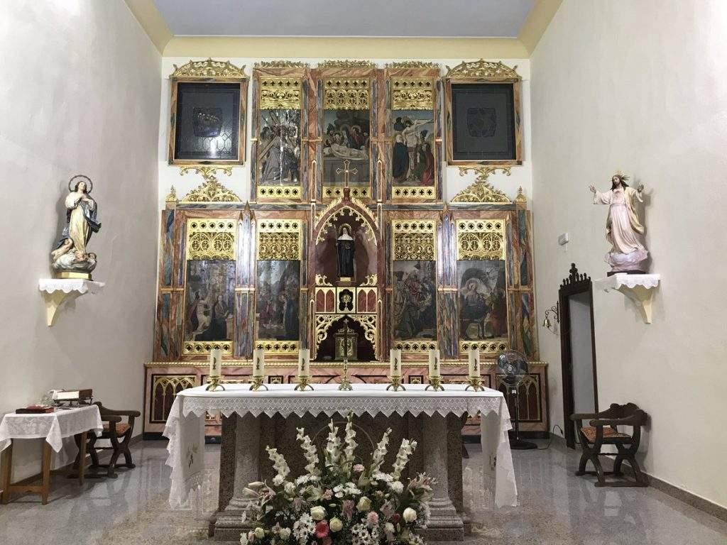 parroquia de santa escolastica navalvillar de ibor