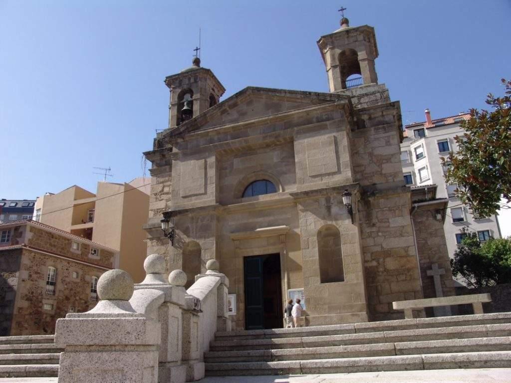parroquia de santa eugenia santa uxia de ribeira