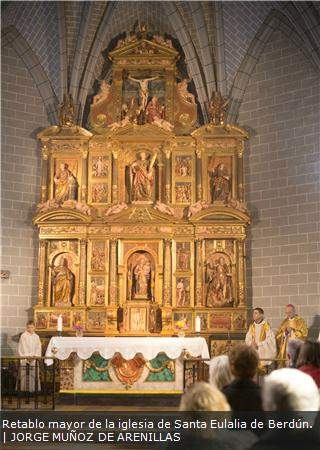 parroquia de santa eulalia de merida berdun