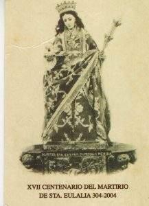 parroquia de santa eulalia virgen y martir olalla