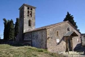 Parroquia de Santa Maria de Batet de la Serra (Olot)