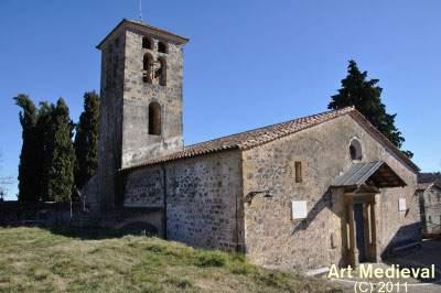 parroquia de santa maria de batet de la serra olot