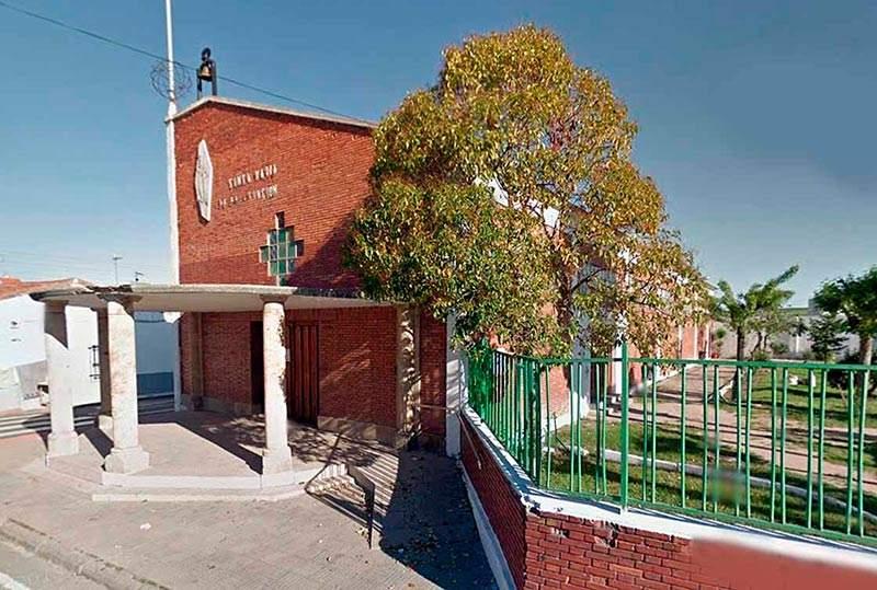 parroquia de santa maria de la asuncion puente ladrillo salamanca