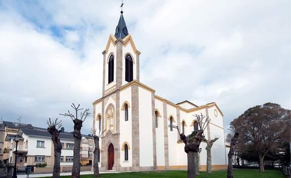 parroquia de santa maria de la barca navia