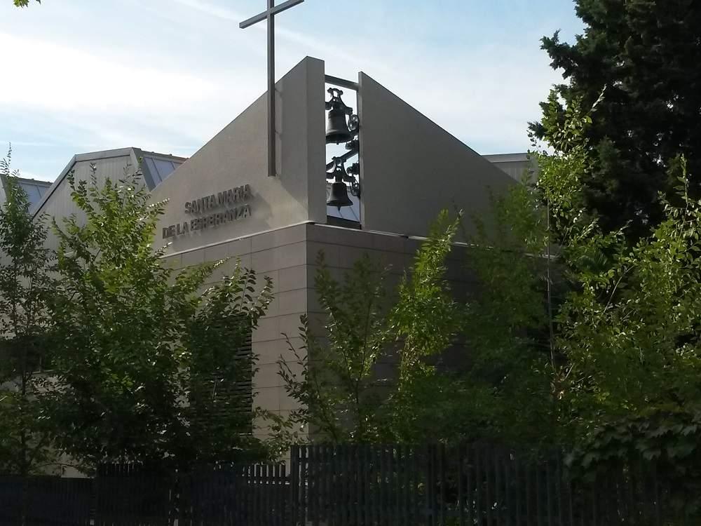 parroquia de santa maria de la esperanza agustinos madrid