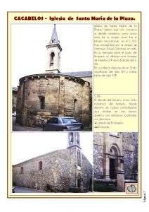 parroquia de santa maria de la plaza cacabelos