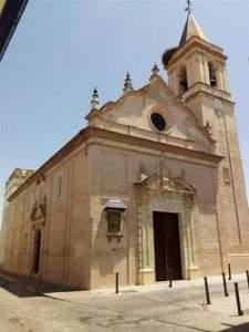 parroquia de santa maria de las nieves benacazon
