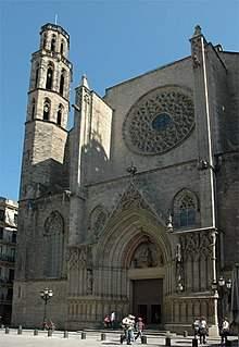 parroquia de santa maria de les arenes terrassa