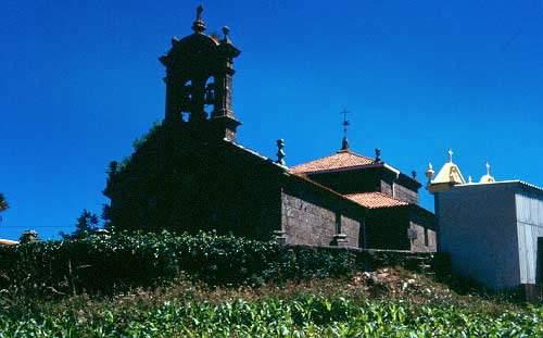 parroquia de santa maria de queixas