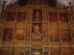 parroquia de santa maria del azogue valderas