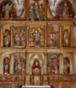 parroquia de santa maria del castillo villaverde de medina