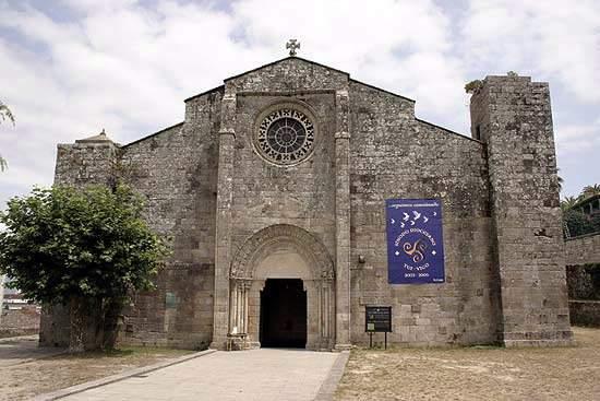 parroquia de santa maria ex colegiata baiona