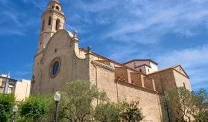 parroquia de santa maria i sant nicolau calella 1