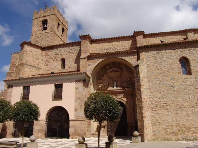 parroquia de santa maria la mayor olvega