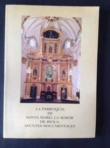 parroquia de santa maria la mayor riola