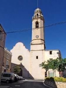 parroquia de santa maria la pobla de montornes