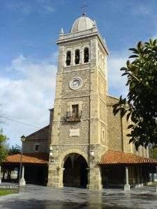 parroquia de santa maria luanco