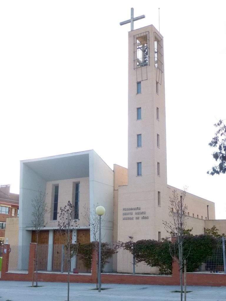 parroquia de santa maria madre de dios tres cantos