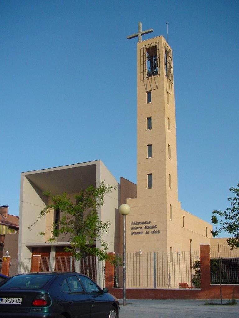 parroquia de santa maria madre de la iglesia casarrubios del monte